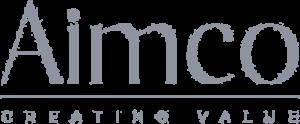 Aimco creating value logo.
