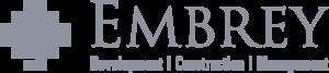 Embrey development, construction, management logo.