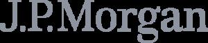 J P Morgan logo.