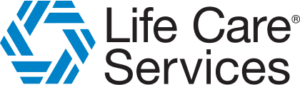 Life Care Services logo.