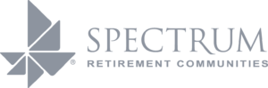 Spectrum Retirement Communities logo.