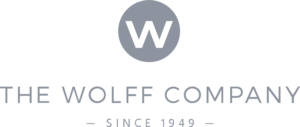 The Wolff Company since 1949 logo.