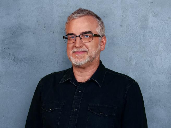 Portrait of Brent Steiner.